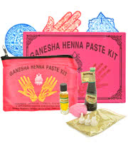 Ganesha Henna Paste Kit