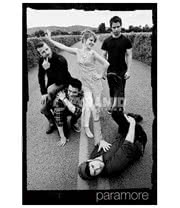 Paramore Black and White Photo Print Poster (Black/White)