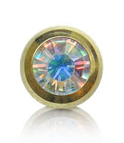 Plasma Gold Jewelled 5mm Ball (AB)