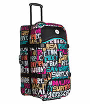Roxy Typo Long Haul Travel Case (Multi Coloured)