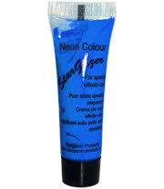 Stargazer Neon Special Effects Face and Body Paint (Blue)