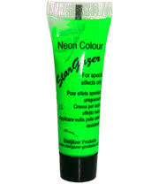 Stargazer Tube of Neon Special Effects Face and Body Paint (Green)