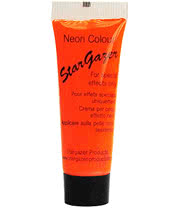 Stargazer Neon Special Effects Face and Body Paint (Orange)