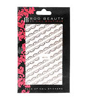 Nail Art Sheets XB-08 Scollop Lace Strip (Pink)