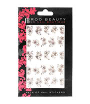 Nail Art Sheets XB-75 Large Flower (Pink)